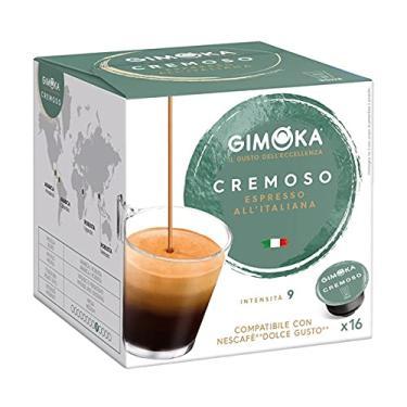 Imagem de Cápsulas de Café Espresso Gimoka, Compatível com Dolce Gusto (Cremoso)