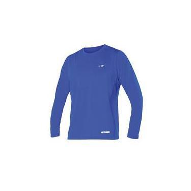 Camiseta Uv Body Fit Mormaii   Azul   Manga Longa   G c054b9a1f18