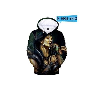 Venda Hot 3D hoodies camisolas Mortal Kombat 11 Imprimir com capuz manga comprida Men roupas casuais Moda Kpop Plus Size XXS-4XL