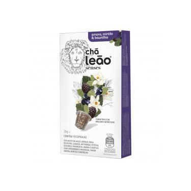 Chá Leão Cápsula Amora, Mirtilo e Baunilha c/10 Unidades