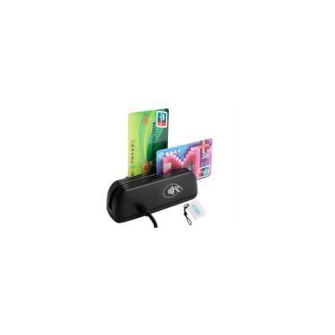 Leitor de cartão de crédito 3 em 1 SZTW150 Leitor de cartão magnético emv Chip / Leitor nfc rfid Leitor de cartão ic