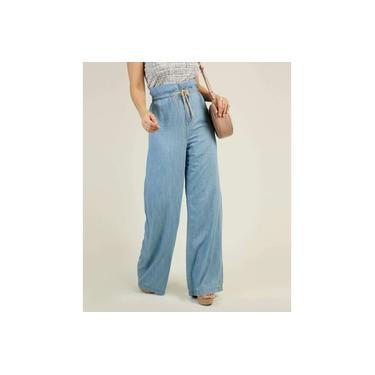 Calça Pantalona Feminina Clochard Zune Jeans