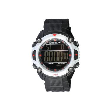 e10ca007660 Relógio Digital Speedo 81113G0 - Masculino - PRETO CINZA CLARO Speedo