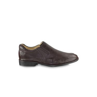 Sapato Anatomic Gel Veneza 9246 Floater Brown