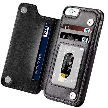 Capa Carteira iPhone 11 Pro Max Couro Wlxy Bumper Antishock