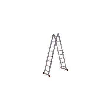 Escada Articulada 13 Em 1 Botafogo 4x4 16 Degraus 13x1 ESC0293