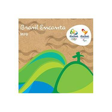 Cd - Brasil Encanta: Rio 2016 Mpb