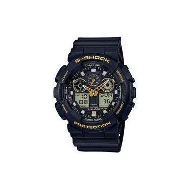 9ec6f4563ba Relógio Casio G-Shock Masculino Ga-100GBX-1A9DR