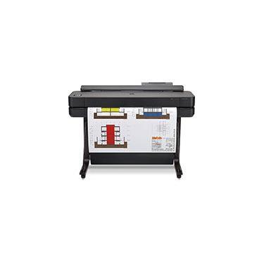 """Impressora plotter 36"""" Designjet T650 5HB10A, Colorida, Wi-fi, Conexão Ethernet, Conexão USB, Bivolt - HP CX 1 UN"""