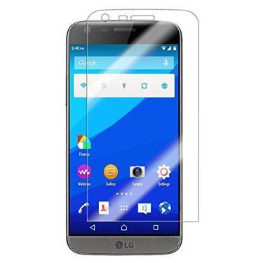 [2 pacotes] Película protetora de tela para LG G5 SE de vidro temperado transparente resistente a arranhões para LG G5 de 5,3 polegadas, LG G5 SE