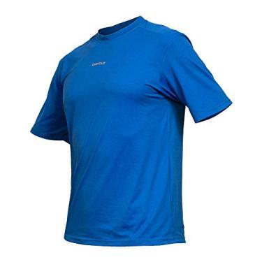 Camiseta Active Fresh Mc - Masculino Curtlo G Azul