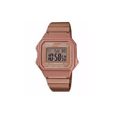 c23ecb6a5c32 Relógio Casio Feminino Vintage B650wc 5adf Rose Digital