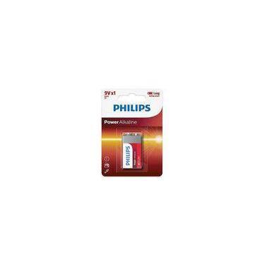 Bateria 9V Alcalina PowerLife PHILIPS