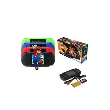 Mini Vídeo Game Portátil pvp 300 Boy Sup +de 400 Jogos Clássicos Cabo Av