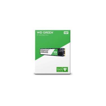SSD Western Digital Green 240 GB SATA III 6Gb s M.2 2280 - WDS240G2G0B