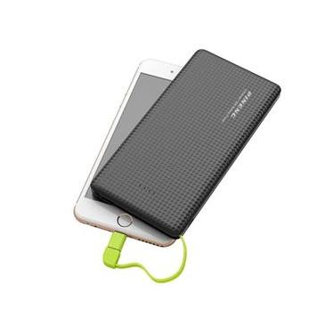 Carregador Portátil 10.000 MAh Pineng Power Bank Slim com Smartphone Motorola