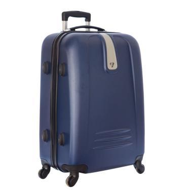 Mala de Viagem Média ABS c/Carrinho 360º Azul YS1083A-M