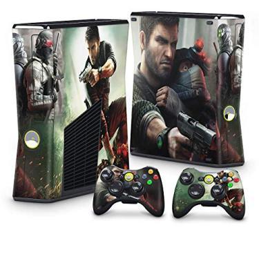 Skin Adesivo para Xbox 360 Slim - Splinter Cell Conviction