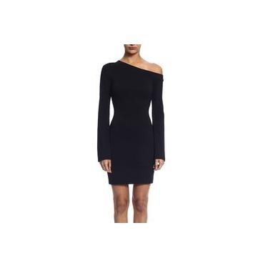 Vestido Feminino Curto Justo Manga Longa em Malha Mormaii 445900130