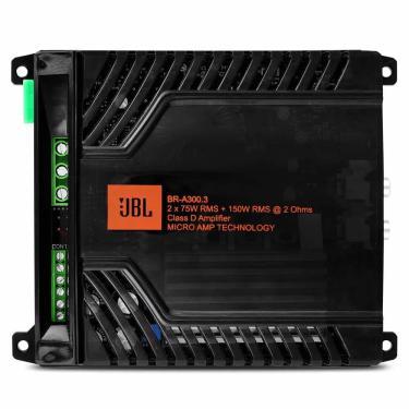 Modulo Amplificador Jbl Br-A 300.3 2X150 Rms 2 Ohms