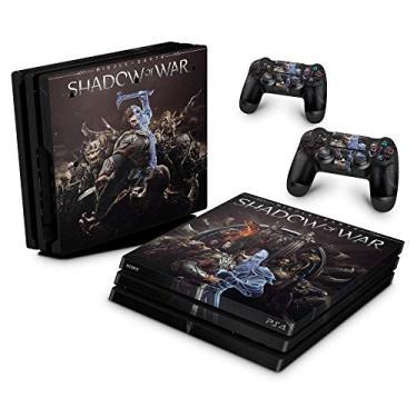 Skin Adesivo para PS4 Pro - Shadow Of War