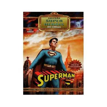 Imagem de DVD Duplo Coleção Super Heróis do Cinema Superman