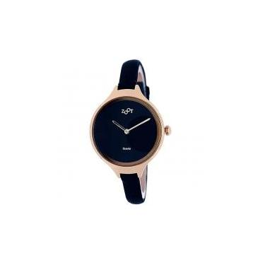 f3be83ee7ae Relógio de pulso casual zoot analanalógico valence - ouro preto