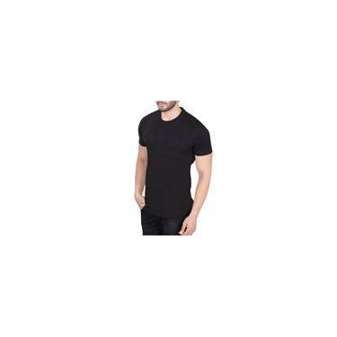 5480edd691 Camiseta Masculina Básica Lisa Moderna