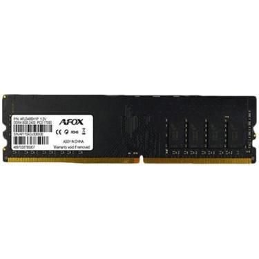 Memória RAM 8GB DDR4 Afox AFLD48EH1P 2400Mhz