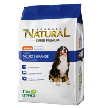 Ração Formula Natural Cães Adultos Medios E Grandes 15kg