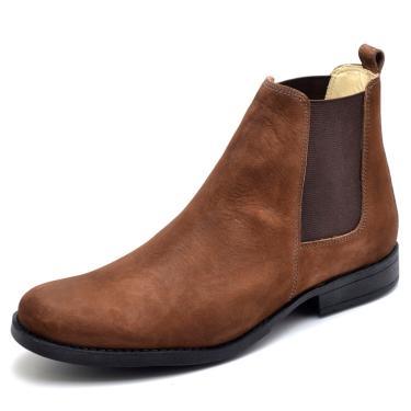 Bota Top Franca Shoes Casual Castanho  masculino