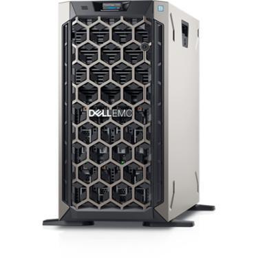 "Servidor Dell PowerEdge T340 poweredge-t340 pe_t340_13159_bcc_1_hl Intel® Xeon® E-2224 3.4GHz, 8M cache, 4C/4T, turbo (71W) 8 GB de UDIMM DDR4 ECC a 2.666 MT/s, BCC SSD SATA de 2,5"", 480 GB, 6 Gbit/s e 512 com unidade de conector automático AG, uso intenso de leitura e carregador híbrido de 3,5"""