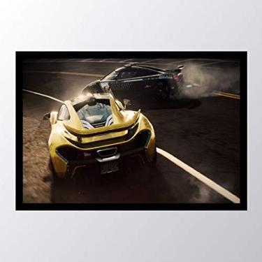 Quadro com moldura need for speed rivals_007