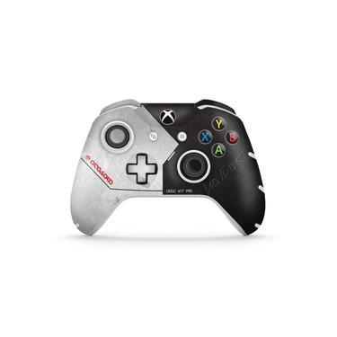 Skin Adesivo para Xbox One Slim X Controle - Cyberpunk 2077 Bundle
