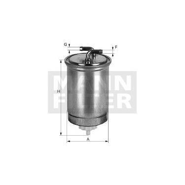 MANN WK853/15 - Filtro de Combustível - Mann Filter