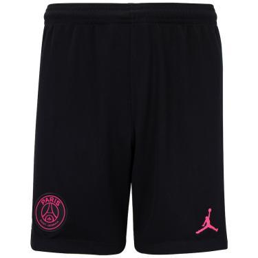 Calção Jordan X PSG IV 20/21 Nike - Juvenil Nike Unissex
