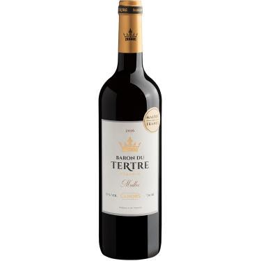 Vinho Tinto -  Baron du Tertre Réserve Malbec Cahors D.O. 2016 Malbec  - França Château Laur