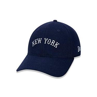 BONÉ NEW ERA ABA CURVA NEW YORK YANKEES AZUL MARINHO COR:AZUL-MARINHO;TAMANHO:U