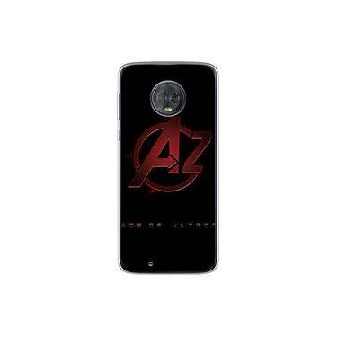 Capa para Moto G6 - The Avengers | Os Vingadores Logo 2