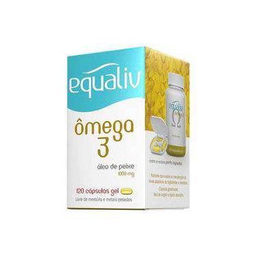Equaliv Omega 3 1000mg 120 Cápsulas
