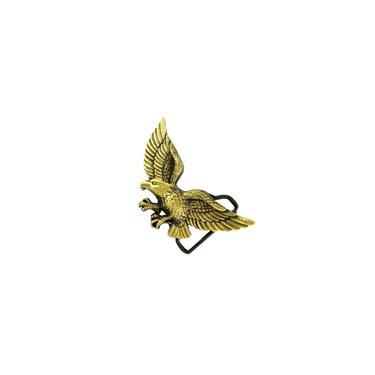 Esculpida 3d Voando águia Padrão Liga Cinto Fivela Para Homem Cowboy Jean-bronze