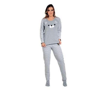 Pijama De Frio Plush Felpudo Urso