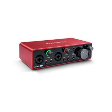 Imagem de Focusrite SCARLETT 2I2 Interface de Áudio
