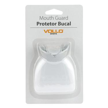 Protetor Bucal Vollo Com Estojo VM502 - Prata