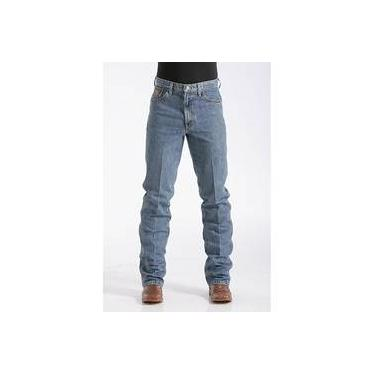 Calça Jeans Masculina Cinch Bronze Medium Stonewash