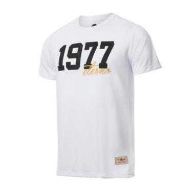 Camisa Retrô Gol Basílio 1977 Branca Torcedor - Masculino cf565642936fc