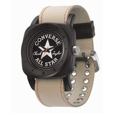 f369c76d245 Relógio Converse 1908 Premium Preto Bege unissex