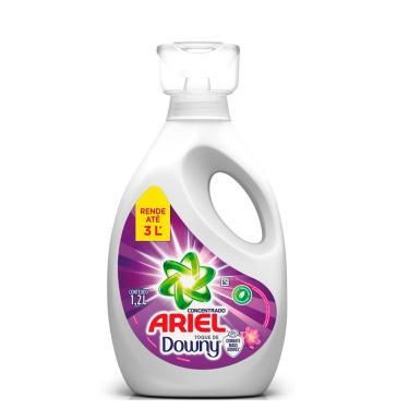 Sabão Líquido Ariel Concentrado com Toque de Downy 1,2L 30 Lavagens