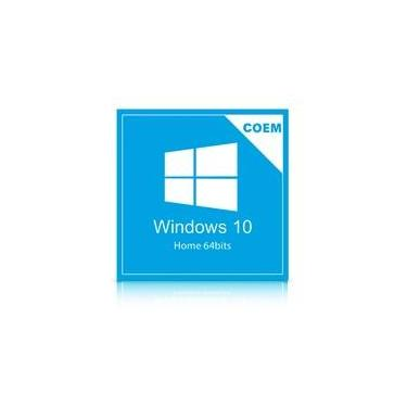 Microsoft Windows 10 Home 64 Bits Português KW9-00154 COEM