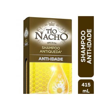 Tío Nacho Shampoo Antiqueda/Anti-idade Vit Geléia Real 415mL